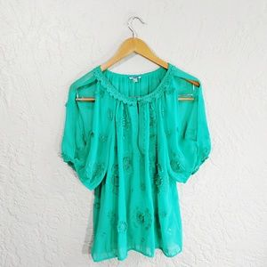Leifnotes {Anthropologie} Windflower Blouse